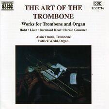 Alain Trudel - Art of the Trombone [New CD]