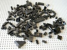 Lego Lot of 125 Black Bricks and Slopes - New condition !!