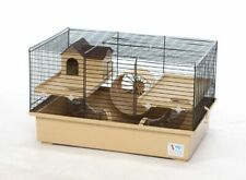 Hamster Cage with House Wheel Water Bottle Mice Mouse Rodents Pet Gerbil Hutch