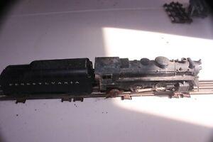 The Devil's Steam Locomotive - Marx #666 2-4-2 with PRR 2046W50 Tender