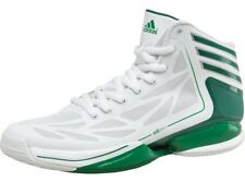 ADIDAS MENS BASKETBALL TRAINERS, BOOTS, ADIZERO CRAZY LIGHT UK 14 to 15 WHITE