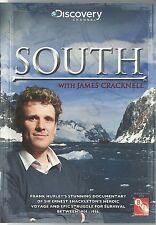 SOUTH WITH JAMES CRACKNELL DVD - SIR ERNEST SHACKLETON'S HEROIC VOYAGE