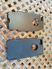 PREOWNED 2 PIECE HARDSHELL CASE FOR IPHONE 5/5S/SE - BLACK