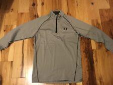 Men's Under Armour pullover shirt sweatshirt top gray M medium fitted