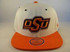 newest ad8fa 6960e Oklahoma State Cowboys NCAA Zephyr Snapback Hat Cap Ivory Orange