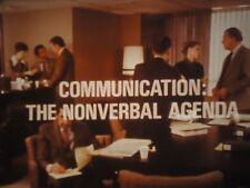 16mm   Communication: The Non-Verbal Agenda 1200' Kodak SP