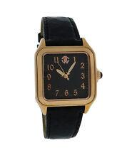 Roberto Cavalli Venom R7251192525 Women's Square Analog Crocodile Leather Watch