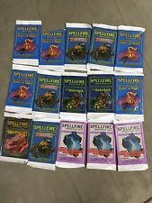 Spellfire 15 Booster Packs! Sealed! Sets 6 - 10 Advanced Dungeons and Dragons to