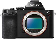 Sony Alpha a7R 36.4MP Digital SLR Camera - Black (Body Only) (VG) - READ