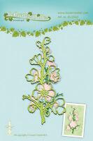 LEA 'bilities couper et gaufrage PATRON Pochoir - Floraison BRIN - LEANE 45.0560