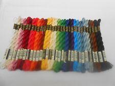 30 DMC Perle 5 Cotton 5g Skeins Assorted Colours