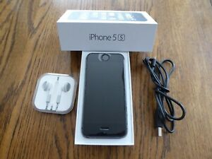 Apple iPhone 5s - A1533 - Space Gray - 16GB - iOS Smartphone - Ex Cond  +