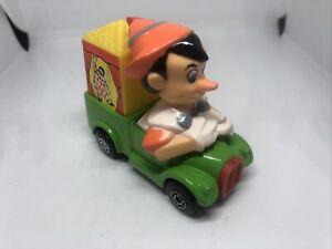 "Matchbox 3"" PINNOCHIO Diecast Toy Car VINTAGE 1979 No:7 Disney Series RARE"