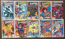 Action Comics #694,695,695,696,697,698,699,700,701,702 1993 Comics Superman lot