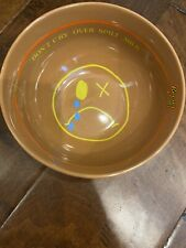 Travis Scott Reese's Puffs Bowl and Spoon Set Cactus Jack New Brown Yellow