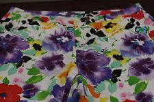 New Lauren Ralph Lauren woman 20W floral print pants NWT Flowers - Summer $120