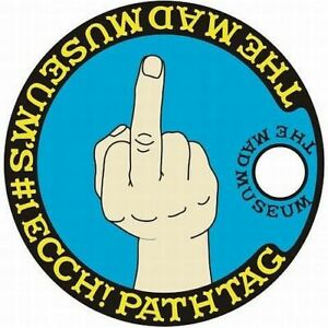 MAD Magazine #166 Middle Finger Pathtag Geo-Coin #1 Ecch! With Apology Letter!