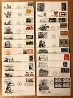 1950s-1970s FIRST DAY COVERS - U.S. FDCs LARGE COLLECTION / 1 COVER