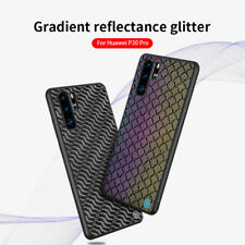 Nillkin Twinkle Series Cloth Hybrid Reflective Case Cover for Huawei P30 Pro