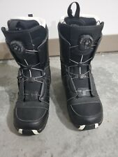 Salomon Fraction Boa Snowboarding Boots / Mens Us 10 / Black