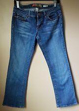 Old Navy Bootcut Ultra Low Waist Stretch Womens Size 4 Blue Jean Denim Short A