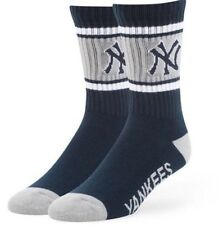 New York Yankees Socks '47 Brand Duster Large Navy Blue Men's 9-13 Women's 10-12