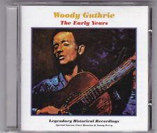 WOODY GUTHRIE-THE EARLY YEARS-CD ALBUM 20 TITEL!