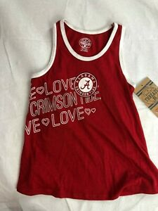 CFL Alabama Crimson Tide Girl's Tank Top - Red - NWT - C368