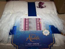 "Disney Aladdin 60""x50"" Throw Blanket Extra SOFT~ New & Free Shipping!"