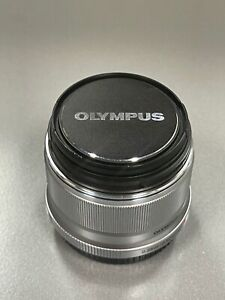 Olympus M.Zuiko Digital ED 25mm F1.8 Lens (Silver) Prime Micro Four Thirds USED