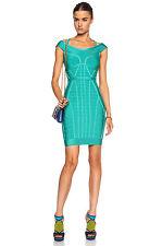 Herve Leger 'Connie' Bandage Dress Size Large