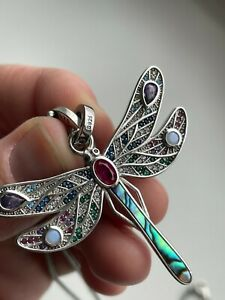 Ladies Pendant Dragonfly 925 Sterling Silver Gift for HER Fashion Jewellery UK