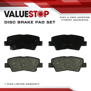 Rear Ceramic Brake Pads for Hyundai Sonata  (14-12); Kia Optima  (15-11)