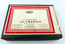 FOTON ULTRAPAN SUPER 9x12 glass photographic plates.. never opened, 1960
