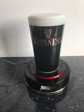 Guinness Vintage Beer Pump Topper Display Label Light Pub Home Bar Man Cave