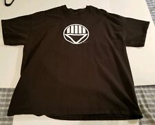 Black Lantern Symbol men's t-shirt XXL Green Lantern Black Hand DC preowned