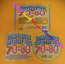 CD Compilation GREATEST HITS 70-80 TOTO SAVAGE GAZEBO no lp mc dvd vhs(C26)
