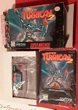 Super Turrican 2 (Super Nintendo, 1995), SNES, Actual pict, Fast ship, Authentic