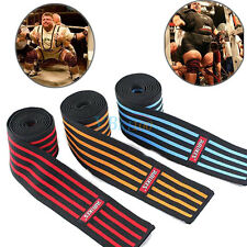 Elastic Bandage Knee Support Strap Leg For Heavy Squat Weightlifting SS