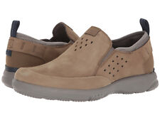 Rockport Men's TruFlex Slip-On US 12 M Taupe Leather Loafers Shoes $130.00