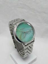 Fossil Vintage Muse Green Dial Women's Silver Tone Stainless Steel Band ES3959