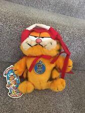 Garfield Vintage Dakin Devil Plush Soft Toy Horns 1981 Tags