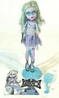 Monster High Haunted Getting Ghostly Twyla Doll With Stand And Brush
