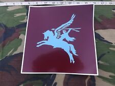 "Printed, British Airborne, PEGASUS, Vinyl,Vehicle Sticker, 8"" X 8"""