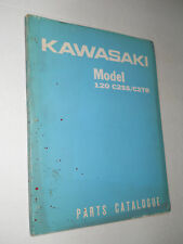 KAWASAKI  MODEL 120 C2SS / C2TR   ILLUSTRATED  PARTS CATALOGUE  MANUAL