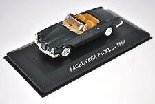 Voiture modèle réduit collection 1/43ème Facel Vega Facel 6 de 1964