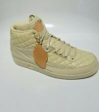 Air jordan 2 II Just Don Don C Beach W/Hat 834825-250 box set  tan size 12 DS