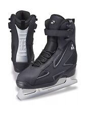 Jackson Ultima Softec Elite St7002 Black Mens Ice Skates with Mark Ii blades, 6
