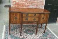 Mahogany Wood Antique Edwardian  Sideboard Cabinet Small Buffet Bar