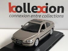 MINICHAMPS 430171261 VOLVO S 60 2000 Gold Metallic 1.43 NB